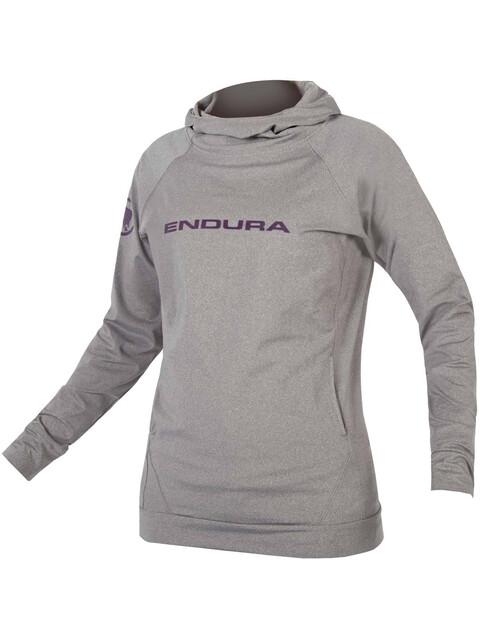 Endura SingleTrack Hoodie Women grey